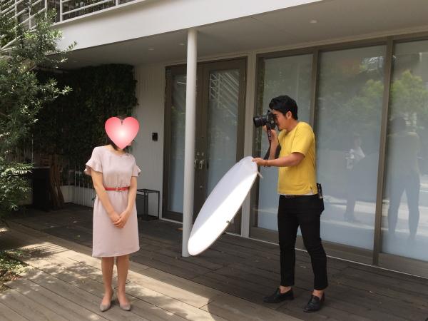 結婚相談所 東京 20代 30代 婚活プロフィール写真