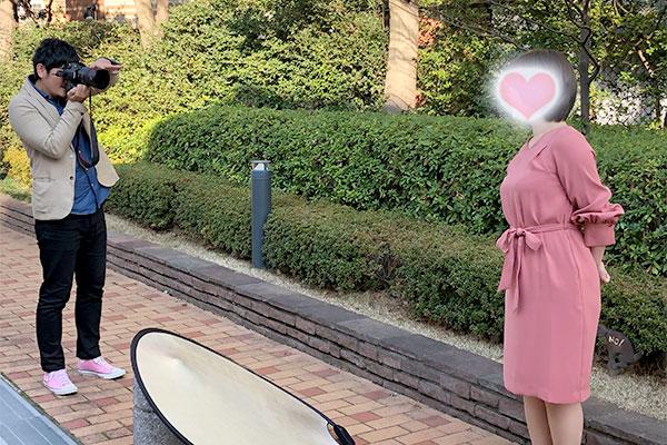 結婚相談所 東京 渋谷 20代 30代 ブログ プロフィール写真 撮影2
