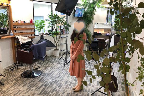 結婚相談所 東京 渋谷 ブログ 婚活女性ワンピース1