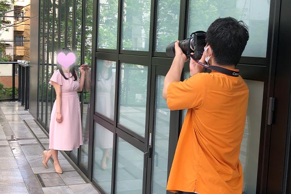 結婚相談所 東京 渋谷 20代 30代 女性写真ワンピース