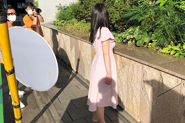 結婚相談所 東京 渋谷 20代 30代 女性写真後ろ姿