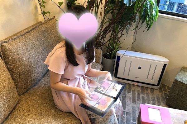 結婚相談所 東京 渋谷 20代 30代 女性写真撮影後