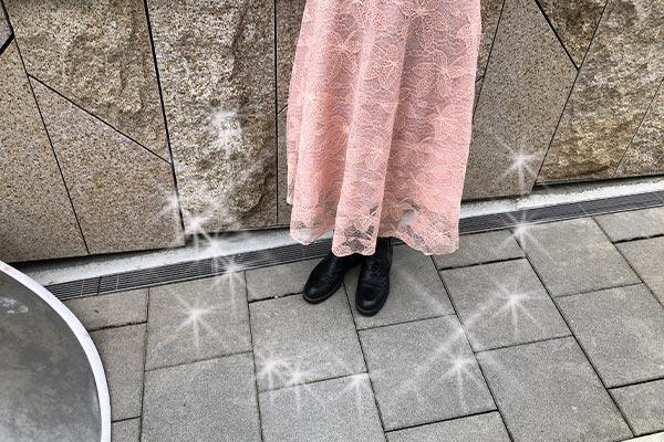 結婚相談所 東京 渋谷 20代 30代 写真撮影足元