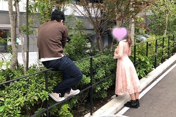 結婚相談所 東京 渋谷 20代 30代 写真撮影