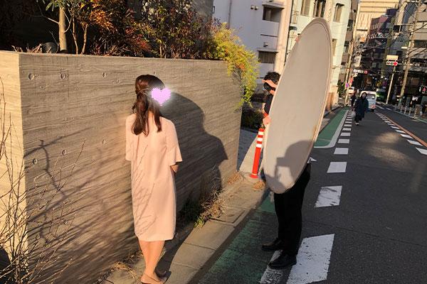 結婚相談所 東京 渋谷女性撮影2