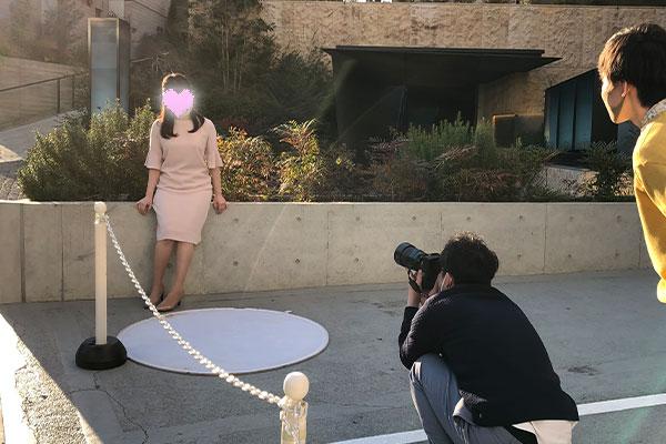 結婚相談所 東京 渋谷 20代 30代 女性撮影1