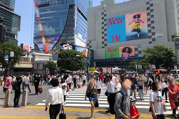 結婚相談所 東京 渋谷 20代 30代 渋谷スクランブル交差点