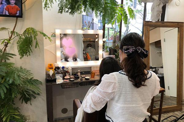 結婚相談所 東京 渋谷 20代 30代 女性 ヘアメイク