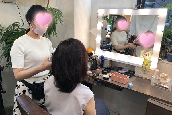 結婚相談所 東京 渋谷 20代 女性 ヘアメイク