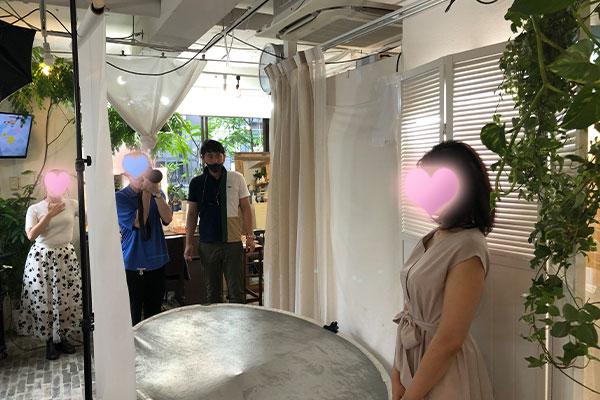 結婚相談所 東京 渋谷 20代 女性 撮影1